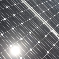 Rock Creek solar panel.