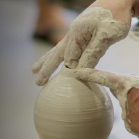 Ceramics demonstration