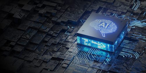 AI, Artificial Intelligence concept,3d rendering, conceptual image