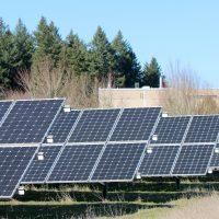 solar array at Rock Creek.