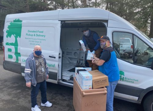 Blanchet House donation