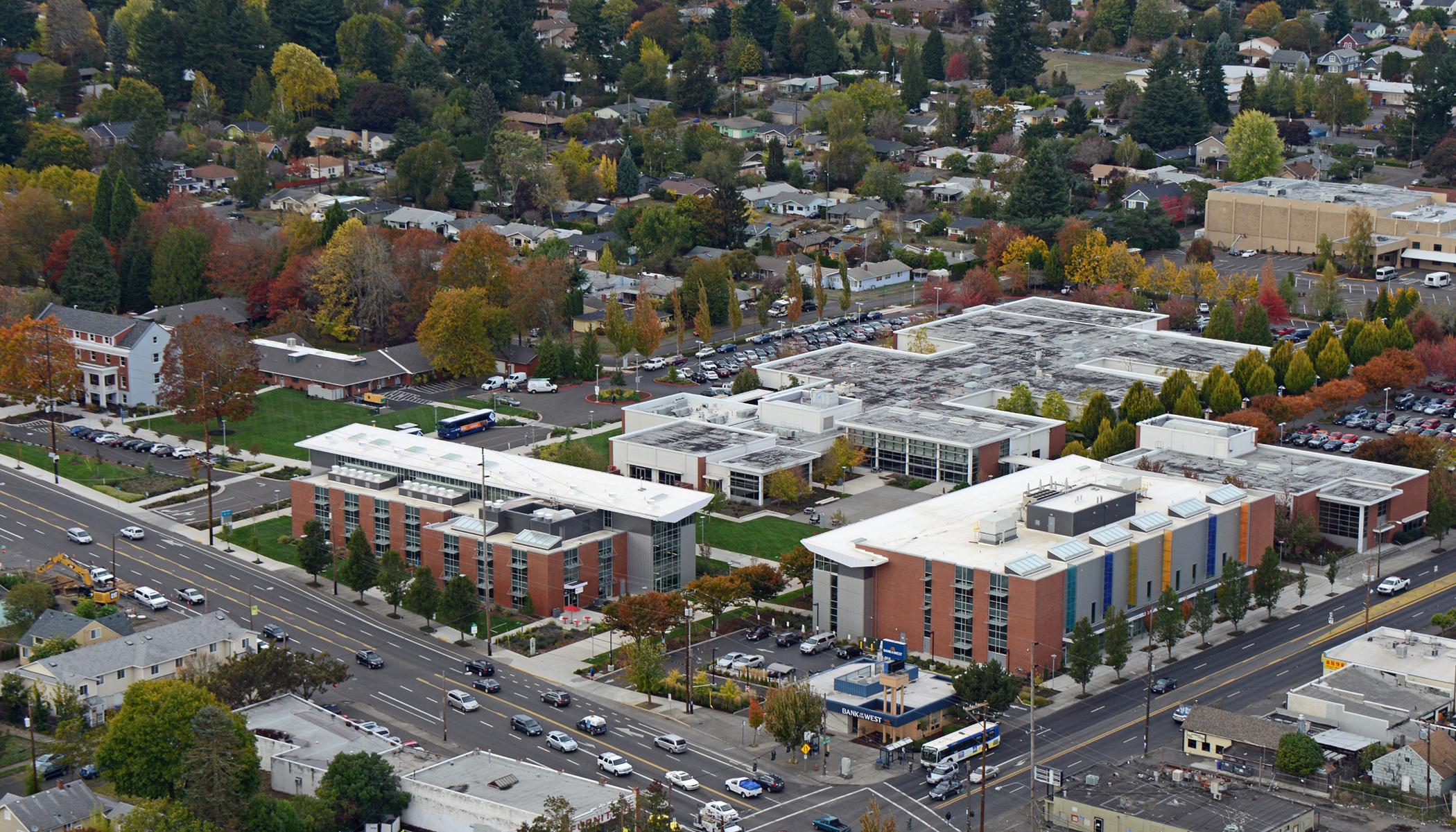 SE Campus aerial.