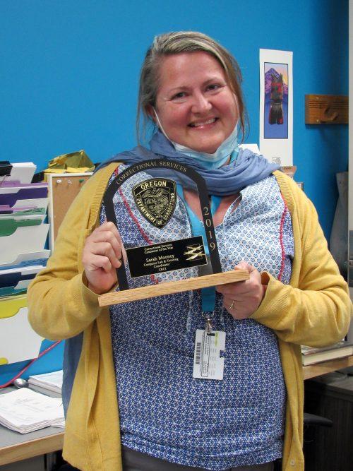 Sarah Mooney award