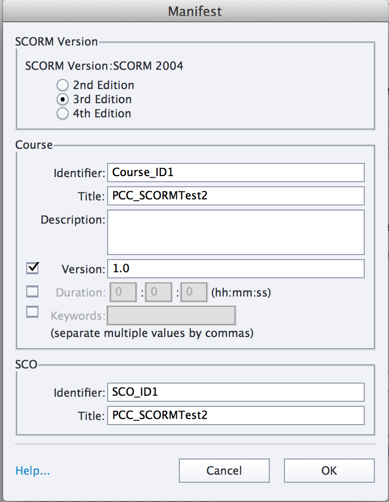 Importing Captivate activities as SCORM objects in to D2L | Online
