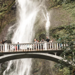 Multnomah Falls, Portland by Caleb Jones (Unsplash.com)