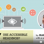 Why make content accessible.