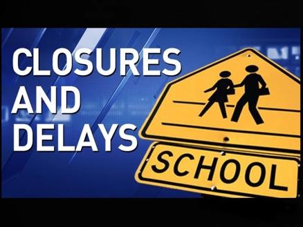 School closures and delays news segment