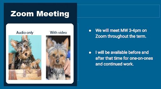 Invitation to zoom meeting