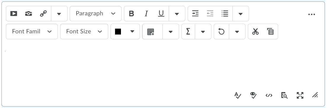 The previous HTML Editor