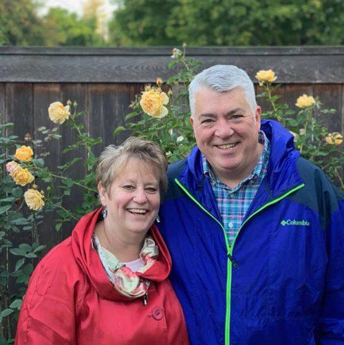Mandy Ellertson and her husband Scott