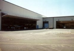 Hanger from the outside