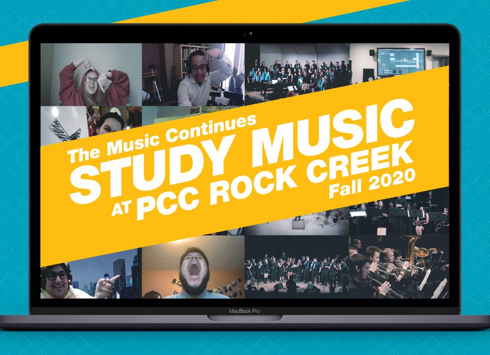 The music continues! Study music at PCC Rock Creek Fall 2020