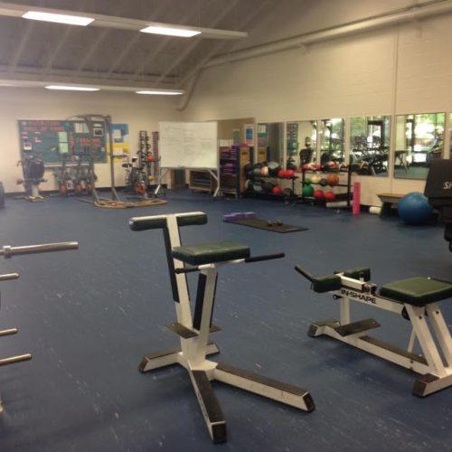 Rock Creek aerobics equipment