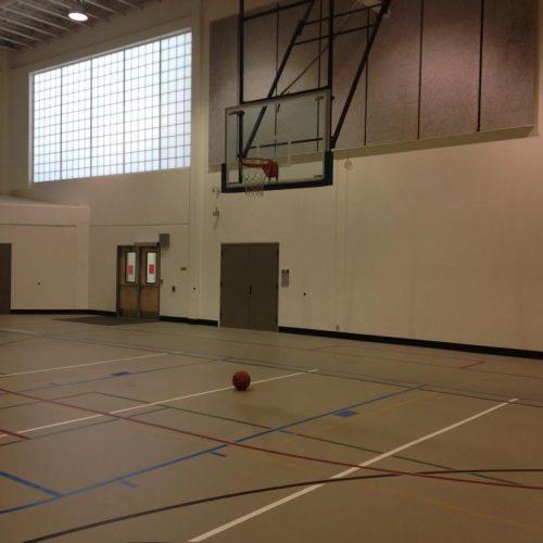 Rock Creek basketball gym