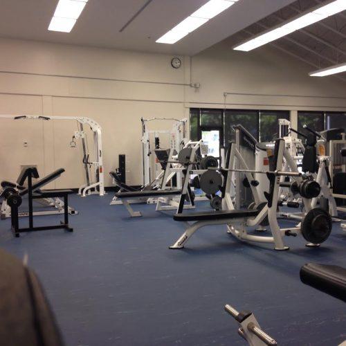 Rock Creek weight room