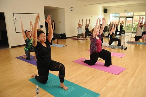 Southeast yoga class