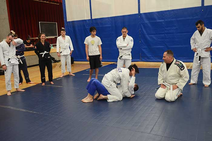 Judo class at Sylvania