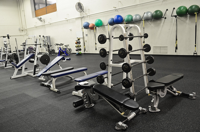 Sylvania functional fitness room and equipment