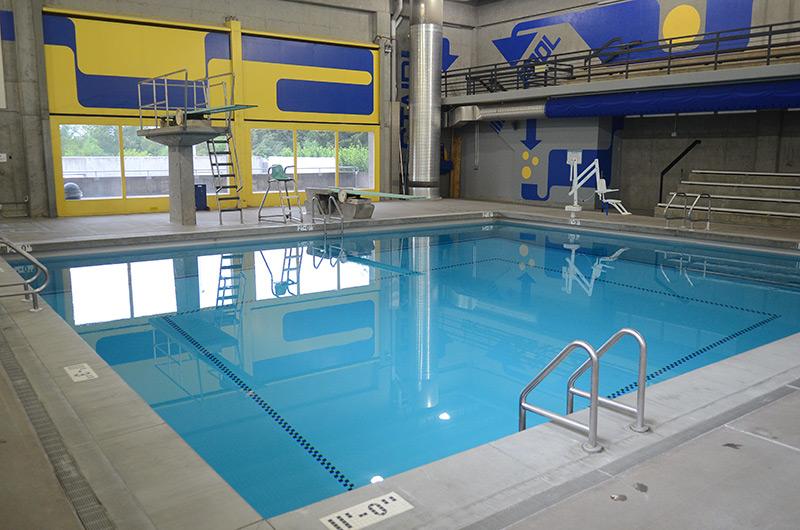 Sylvania diving pool