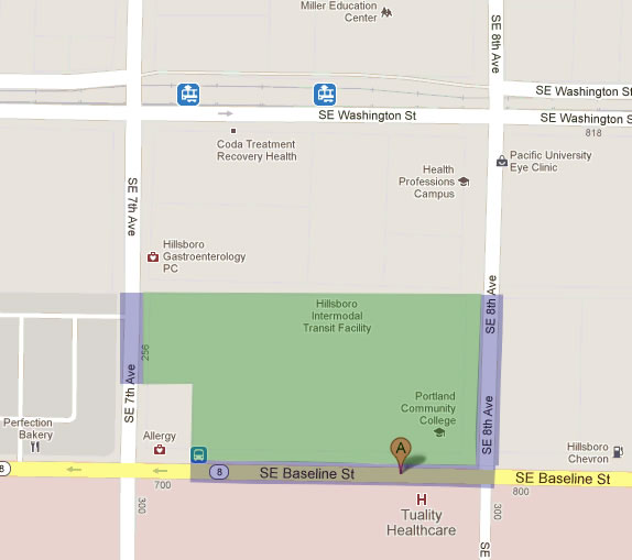 Clery Maps | Public Safety at PCC