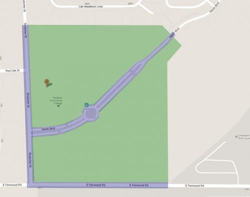 Newberg map