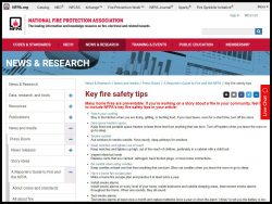 Link to National Fire Protection Association
