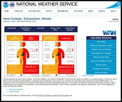 Link to the Natinal Weather Service