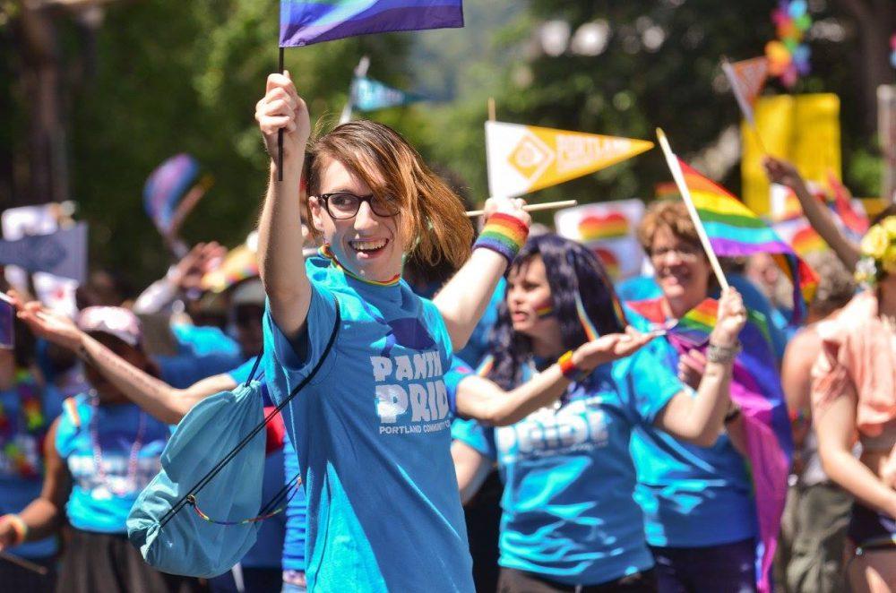 Students at Pride NW