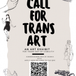 Call for Trans Art poster