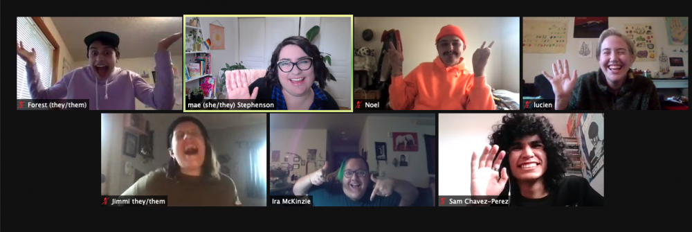 Screenshot of the SY QRC Team in Zoom