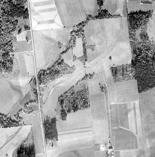 1947 Rock Creek aerial photo
