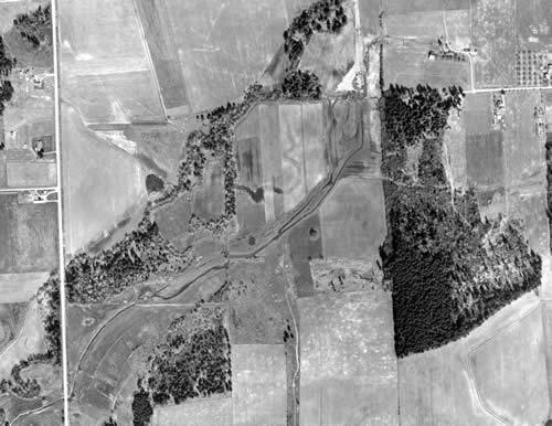 1956 Rock Creek Aerial photo