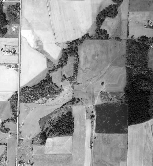 1964 Rock Creek aerial photo