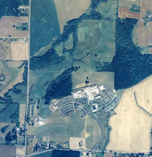 1990 Rock Creek aerial photo