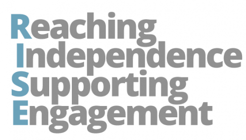 RISE: reaching independence supporting engagement