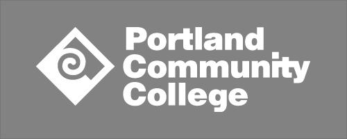 White PCC logo