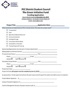 tgi fridays application pdf  The Green Initiative Fund (TGIF) | Sustainability at PCC