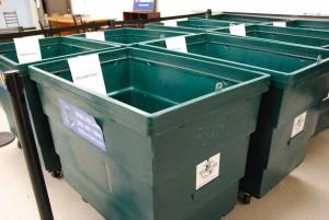 The reclaim bins