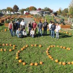 PCC written with pumpkins