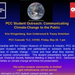 PCC Student Outreach Talk May 22 CA TLC