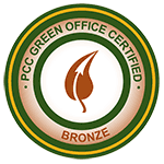 PCC green office certification: bronze