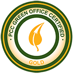 PCC green office certification: gold