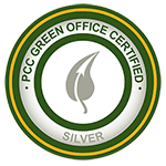 PCC green office certification: silver