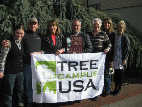 Tree Campus USA group