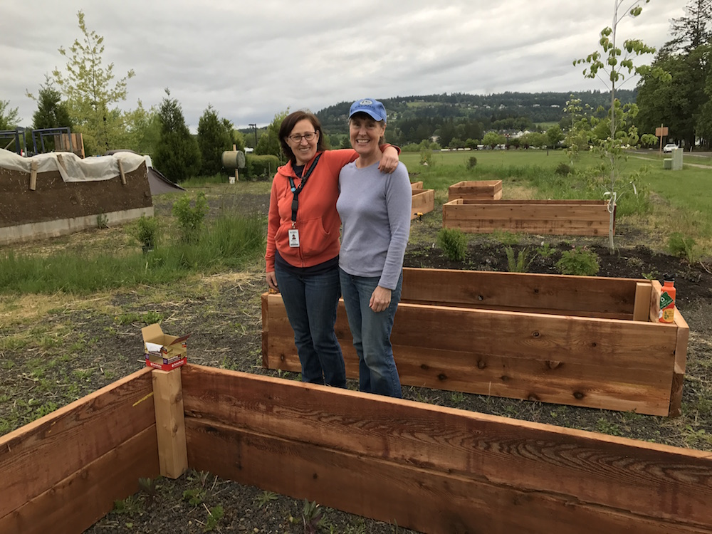 Newburg raised beds