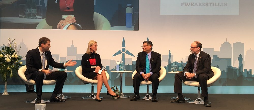 President Mitsui on panel at Climate Summit