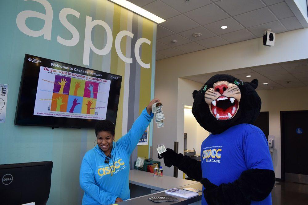 Poppie at ASPCC