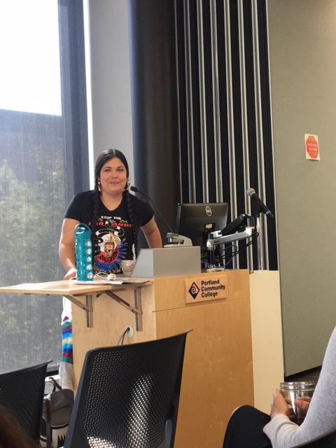 Tara Houska #ecosocialjustice #PCCEarthWeek2018