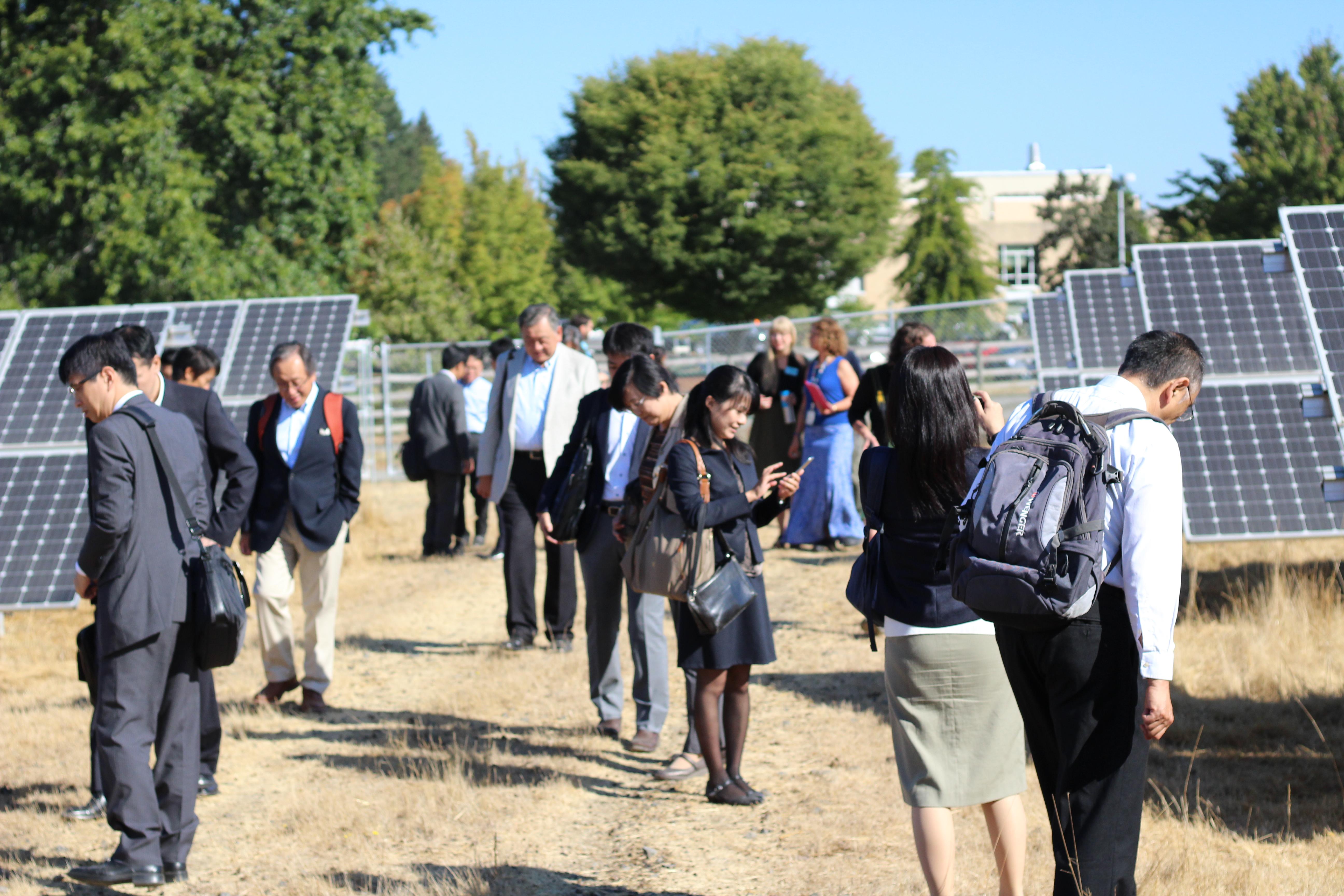 Japanese Energy Leaders at PCC Rock Creek