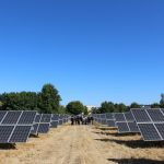 PCC Rock Creek solar array and the Japanese Energy Leaders Tour